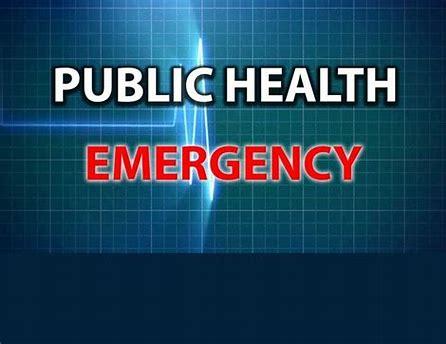 DECLARATION OF PUBLIC HEALTH EMERGENCY